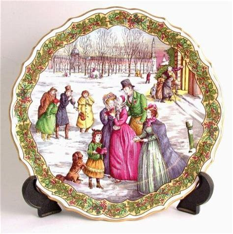 spode victorian christmas series the carol singers cp162