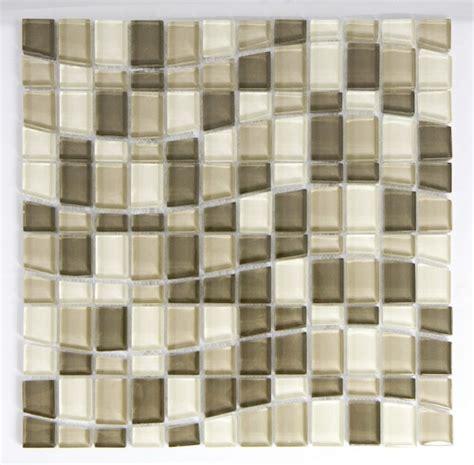 wave glass mosaic tile for kitchen backsplash and bathroom