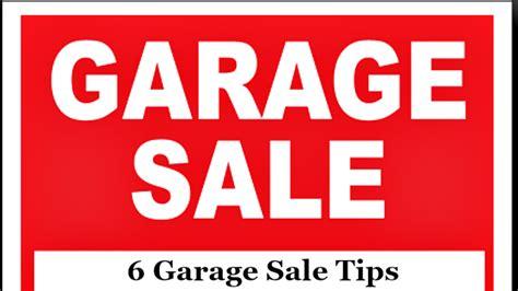 Garage Sale Tips by 6 Garage Sale Tips The Write Balance