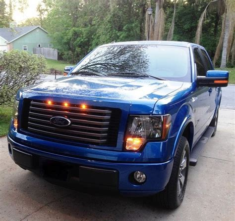 2012 ford f150 lights 2009 2012 ford f 150 raptor style grill clear light kit