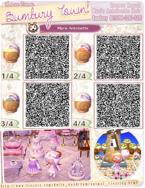 animal crossing new leaf qr codes hair pics for gt animal crossing new leaf bow hair