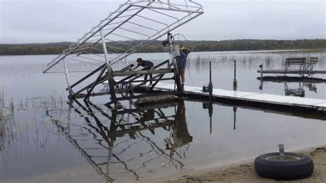 boat lift pump boat lift removal with boat lift helper air bags using a