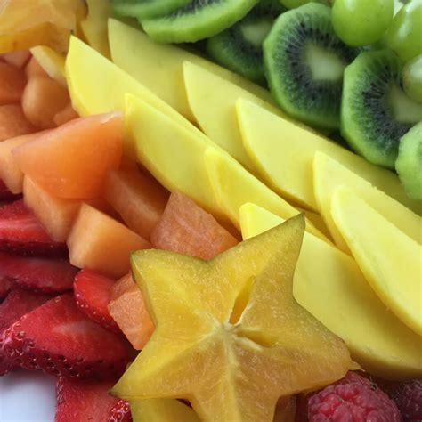 fruit unicorn unicorn fruit tray magical fruit platter idea the