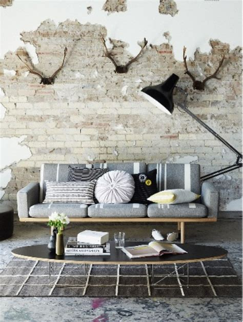 cool wall for living room 59 cool living rooms with brick walls digsdigs