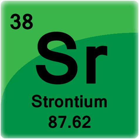 strontium element cell science notes and projects