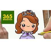 PASO A Dibujos Kawaii Faciles How To Draw Sofia YouTube