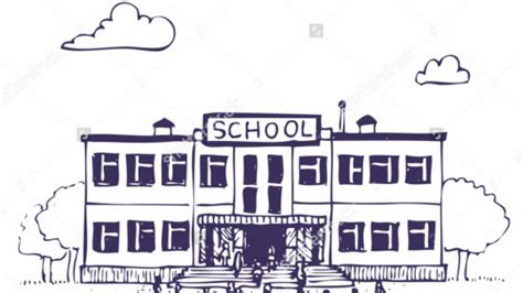 S Drawing Elementary School by Simple Drawing Of A School Simple Drawing Of A School