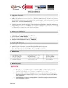Master Data Management Resume by Mdm Cv