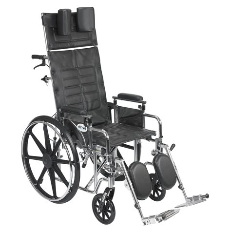 reclining wheelchairs sentra reclining wheelchair detachable adjustable height