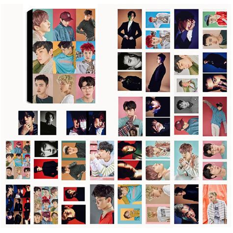 Set Photocard Kpop Exo D O exo ex act lomo photocard set kpop mall usa