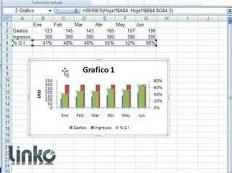 tutorial excel graficos 2007 excel nivel 2 capitulo 2 hacer graficos parte 2