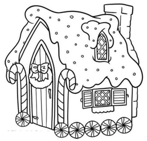 printable gingerbread house patterns to color get this easy printable gingerbread house coloring pages