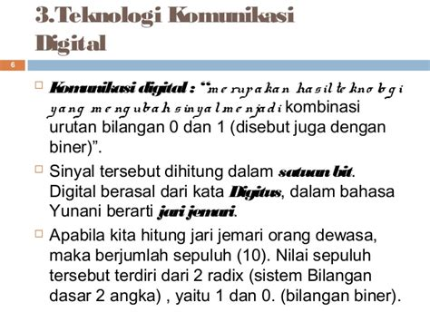 komunikasi analog dan digital