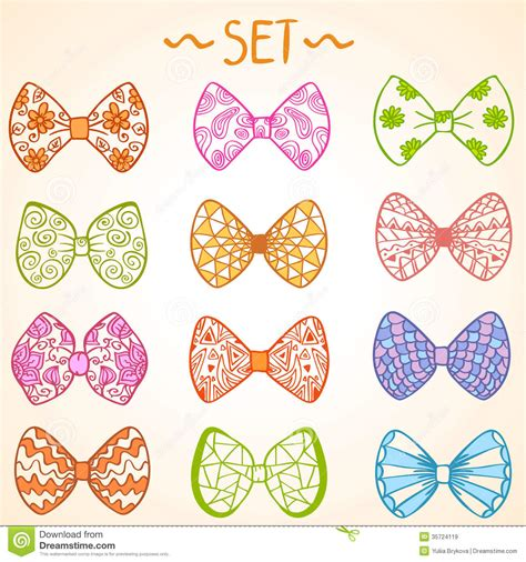 colorful bows bows royalty free stock images image 35724119