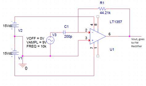 measure capacitor on pcb edge