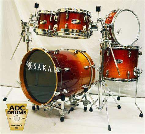 Harga Drum Sakae Pac D sakae pac d drum kit 08 10 13 16 12 in fade drums
