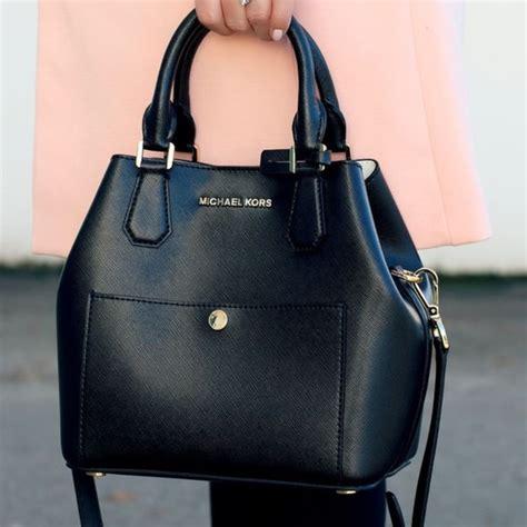 M Hael Kors Black Tote Bag Replika 51 michael kors bags large black greenwich satchel