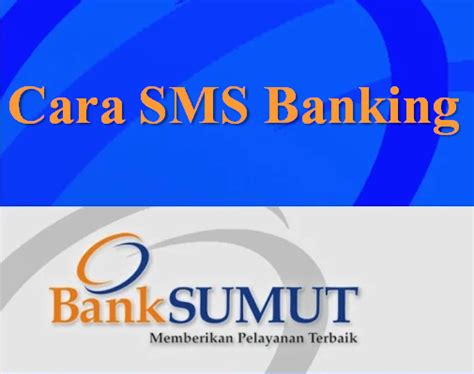 cara bank cara sms banking bank sumut cara sms