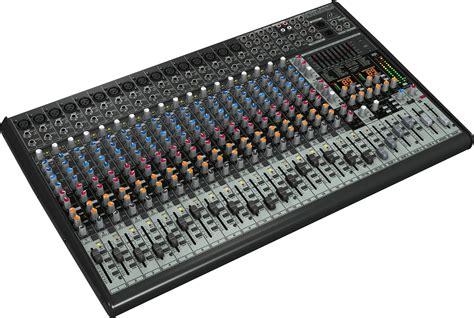 Mixer Behringer 4 Ch behringer sx2442fx eurodesk 24 ch 4 pa mixer pssl