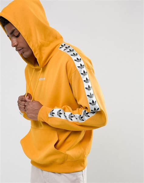 Chion Hoodie Original Yellow adidas originals adicolor tnt hoodie in yellow az8127 in yellow for lyst