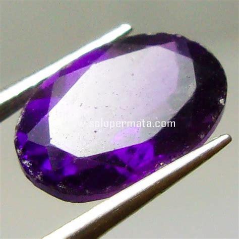 batu permata kecumbung ungu amethyst 08k06 toko