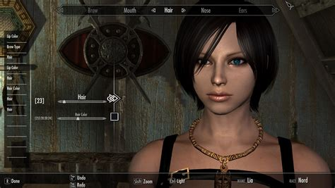 skyrim how to change npc hair in creation kit steam community guide how to create cute character