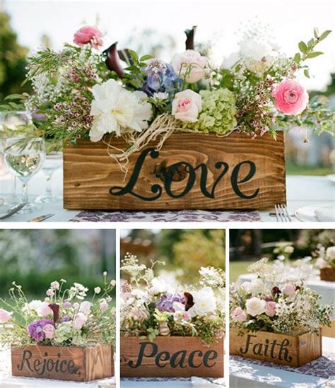 wood boxes for centerpieces fabulous wedding centerpieces that will take your breath away