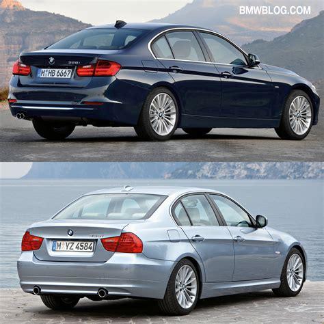 Photo Comparison: F30 BMW 3 Series vs. E90 3 Series