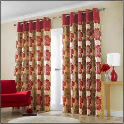 Kitchen Table And Hutch Red Cream Curtains Living Room Curtains Home Design