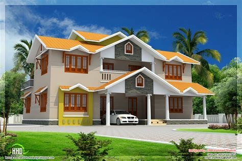 dream home design 2700 sq feet beautiful dream home design kerala home