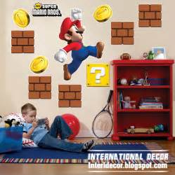 Mario Wall Stickers Uk super mario wall stickers mario kids room designs