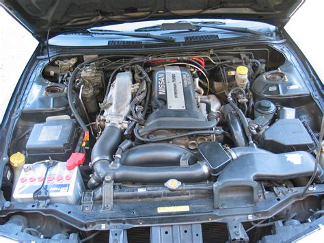 file nissan 200sx s14a engine bay stock jpg wikimedia