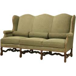 Small Settees For Sale Vintage Os De Mouton Style Small Sofa Or Settee For