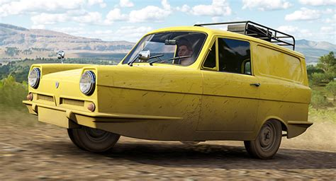 Forza Horizon Barn Finds Cars Reliant Supervan Joins Horizon 3 As Forza S First Three
