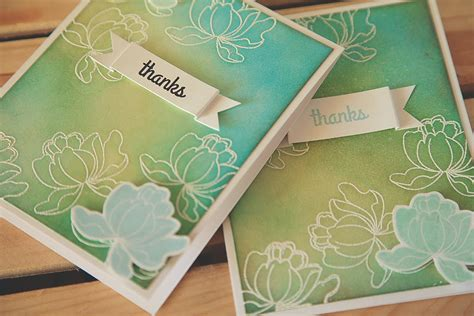 embossing techniques card card technique emboss resist