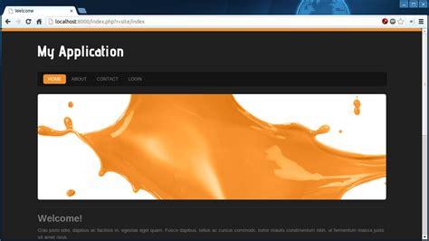 bootstrap themes yii2 yii2 theme factory orange splash