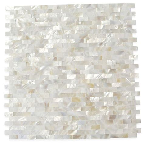 pattern weights canada splashback tile mother of pearl serene white bricks