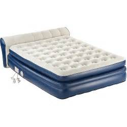 coleman aerobed air matress wth headboard walmart
