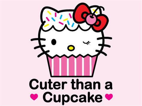 hello kitty cupcake wallpaper hello kitty images clipart best