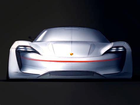 design concept video porsche mission e concept design sketch car body design
