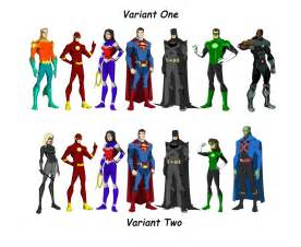 The dc project justice league founding members by huatist on