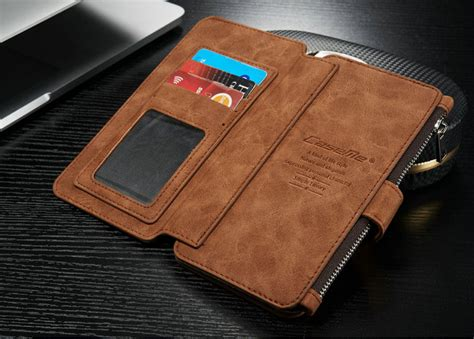 New Flip Wallet Leather Samsung Galaxy S7 Edge fashion leather removable wallet flip cover for