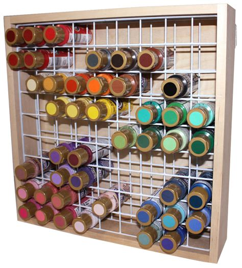Acrylic Paint Holder Rack by Kitchen Dining