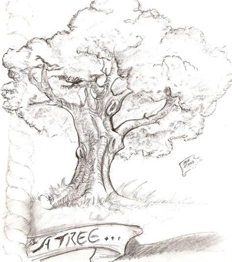 sketched tree sketchbook pencil raihnforge