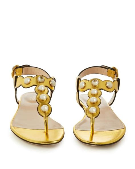 Willow Leather Bracelet Black Gold gucci willow faux pearl embellished leather sandals in