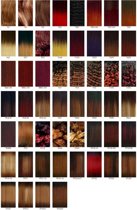 the wigs and hair extensions colour guide the wigs and hair extensions colour guide