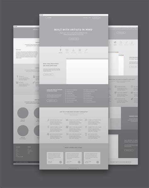 html5 wireframe template 25 best ideas about wireframe on wireframe