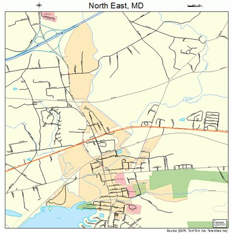 maryland eastern map east maryland map 2456450