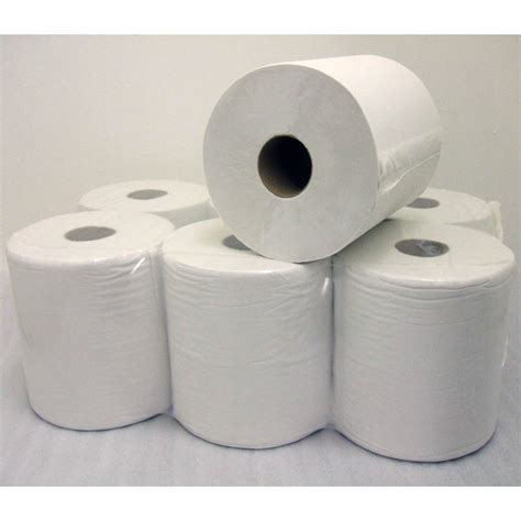 Paper Supplies - centre feed towel roll industrial 2 ply wipe