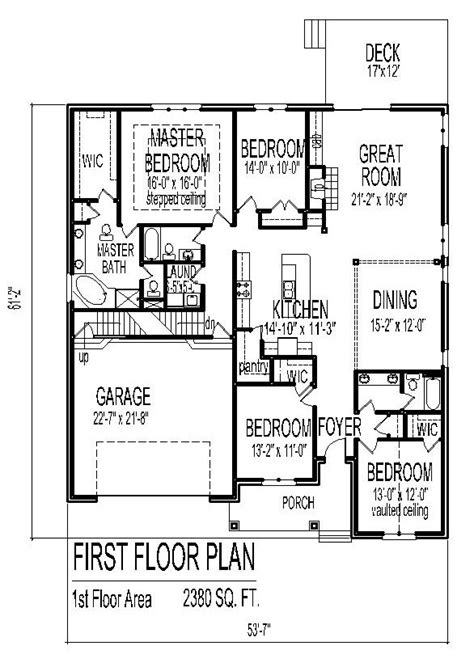 5 Level Split Floor Plans by House Designs Single Floor Low Cost House Floor Plans 3